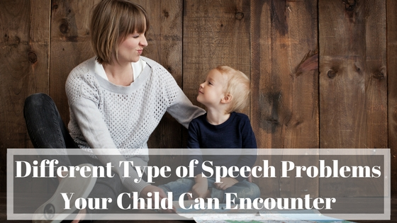 Different Types of Speech Problems